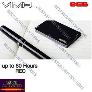 Listening Device Voice Recorder Vimel Audio Voice Activated