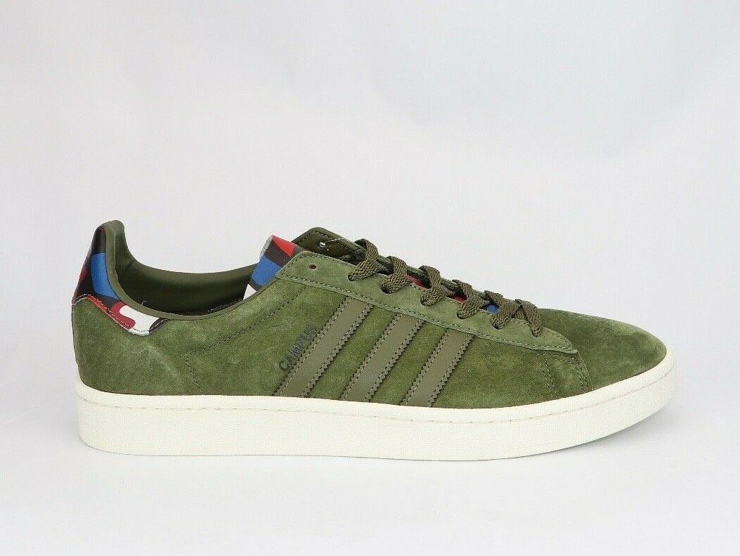 Size 13 Men's Adidas Campus Olive Cargo bluee BB0077