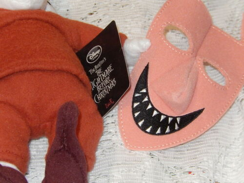 """OFFICIAL DISNEY STORE NIGHTMARE BEFORE CHRISTMAS LOCK PLUSH DOLL W//MASK 11/"""" NWT"""