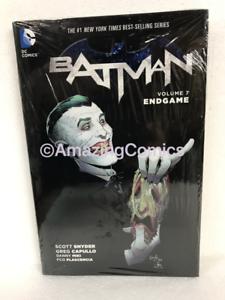 DC-BATMAN-VOL-7-ENDGAME-Hardcover-HC-by-Scott-Snyder-NEW-MSRP-25