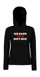 I aussi Girlie Funny peux mignon Sayings Je Fun ᄄᄎtre Hoodie F1JTlcK3