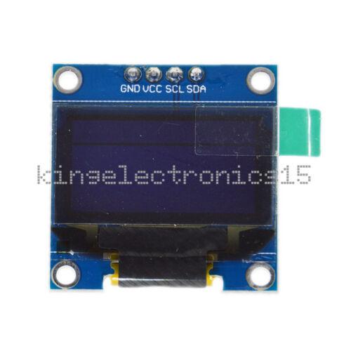 """White  0.96/"""" I2C IIC Serial 128X64 OLED LCD LED Display Module for Arduino"""