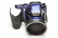 Nikon Coolpix L810 Front Cover Blue Replacement Repair Part DH5421