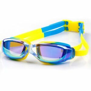4d031a08c57 Kids Swimming Goggles Anti-fog Swim UV Glasses Adjustable Children ...