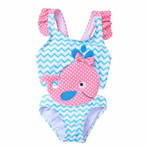 Swimsuit Baby Summer Infant Kid Girl Bikini One Piece Swimwear Beachwear Set New