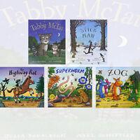 Julia Donaldson Collection 5 Books Set High way Rat, Stick Man, Tabby Mctat,New
