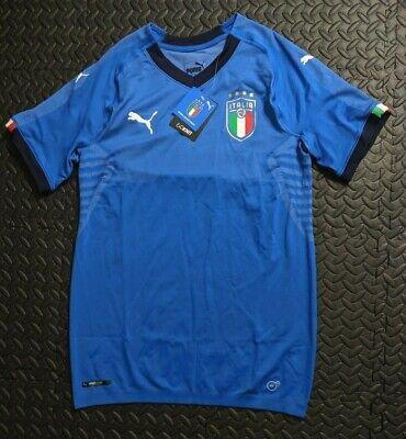 best website 23fba 5c410 Puma Italy Authentic Player Edition Jersey Italia Soccer Sz XL 2018/19  Evoknit | eBay