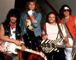 Van Halen David Lee Roth Eddie Alex Singer 8 X 10 Glossy Poster Print Ebay