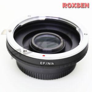 Details about Canon EOS EF Mount Lens to Nikon F Mount Adapter D5 D7500  D500 D610 D810 D5600