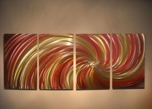 Contemporary Modern Decor Original Harvest Abstract Metal Wall Art