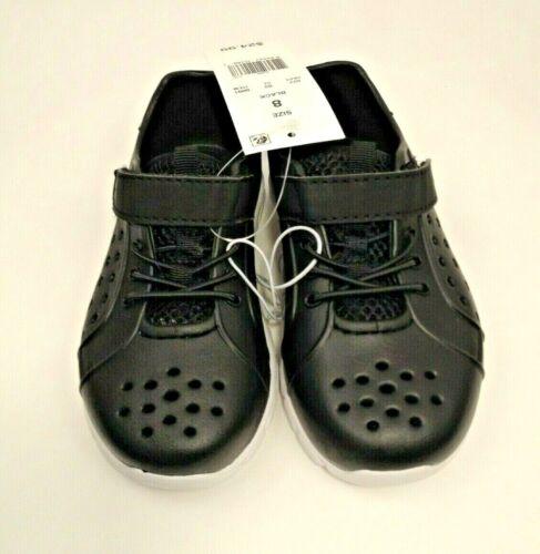 Boys Outdoor Shoes Size 8 Waterproof Swim Running Hiking Hook Loop Closure