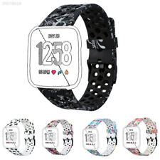 Replacement Band Sport Breathable Silicon Strap Tempered film For Fitbit Versa