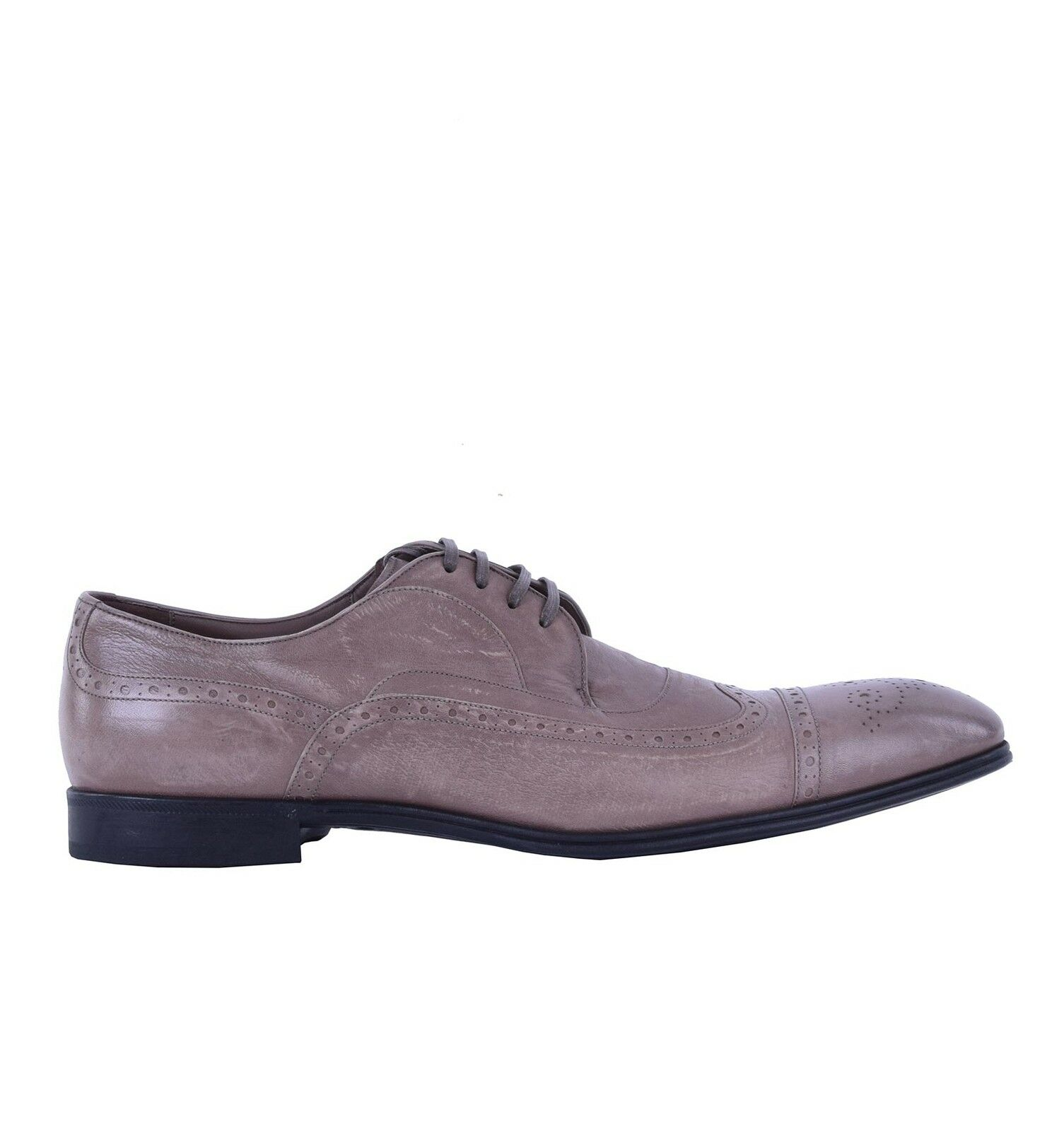 DOLCE & GABBANA Formelle Känguruleder Schuhe 05081 PORTOFINO Beige Formal Schuhes 05081 Schuhe 89a508