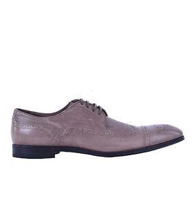 the best attitude f726e 2a05a Details zu DOLCE & GABBANA Formelle Känguruleder Schuhe PORTOFINO Beige  Formal Shoes 05081
