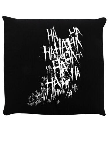 Cushion Joker Laugh Black