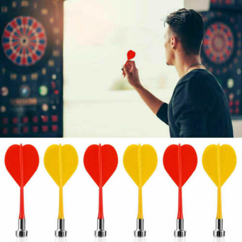 10pcs Red Yellow Magnetic Darts Sets for Two-Sided Magnetic Dart Board LOT
