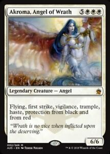 Akroma-Angel-of-Wrath-x4-PL-Magic-the-Gathering-4x-Masters-25-mtg-card-lot
