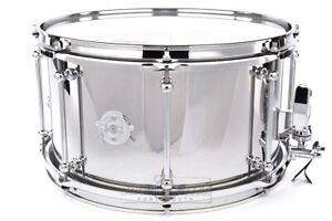 Dunnett-Classic-Stainless-Steel-Snare-Drum-14x8-Polished-Video-Demo