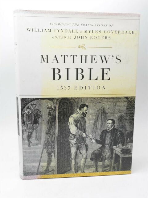 New Holy Bible Matthew's Bible 1537 Edition Hardcover