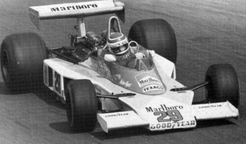 Decal sheet 1//43 Mc Laren M23 F.1 Ford #29 Italian GP 1978 Nelson Piquet NEW