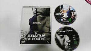 JASON-BOURNE-EL-ULTIMATUM-DE-BOURNE-2-DVD-MATT-DAMON-STEELBOOK-CAJA-METALICA