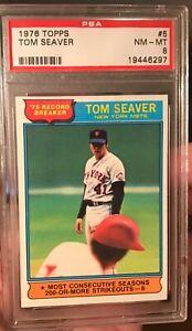 1976-Topps-5-Tom-Seaver-Record-Breaker-PSA-8-NM-MT-Stunner