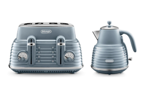 Delonghi Scolpito Kettle & Toaster Set