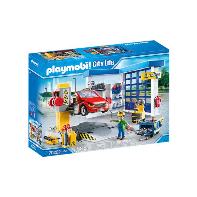 Playmobil City Life Car Repair Garage Building Set 70202 NEW IN STOCK