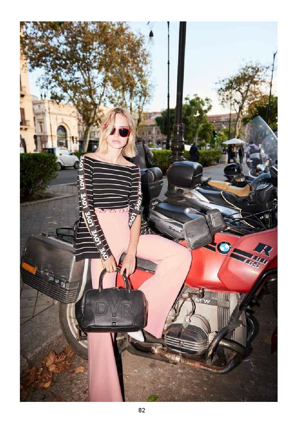 911DD20000 Denny pink trousers Spring 2019 pre-order