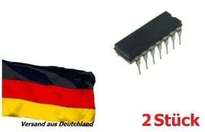 CMOS 4002 NOR-Gatter 2-fach 4 Eingänge DIP14 CD4002BE 2 Stück