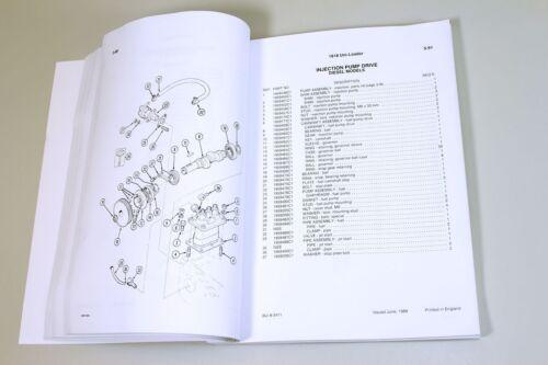CASE 1818 UNI LOADER SKID STEER PARTS CATALOG OWNERS OPERATORS MANUAL SHOP BOOK