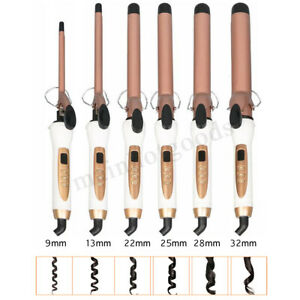 Electric-Hair-Curlers-Rollers-Wand-Crimpers-Salon-Wave-Curling-Iron-Tong