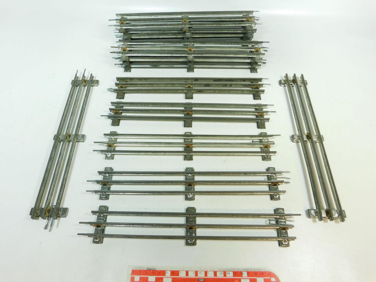 BR871-2 x Märklin Voie 0 Voie Droite (32 cm) pour Electrique Opération