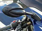 CARBON JAG MIRRORS to fit Honda Kawasaki Suzuki Yamaha