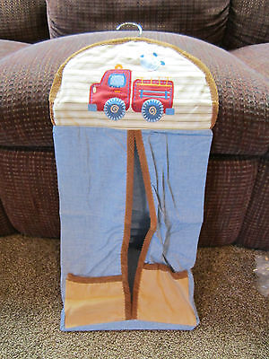 carters diaper stacker puppy tales design baby crib infant nursery organize
