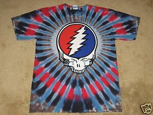 Grateful-Dead-Steal-Your-Tears-S-M-L-XL-2XL-3XL-4XL-5XL-Tie-Dye-T-Shirt
