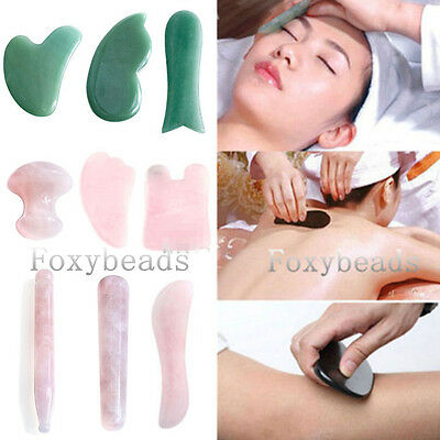 HOT Chinese Scraping Tool GuaSha Board Scraping Treatment Massage Body Face Tool