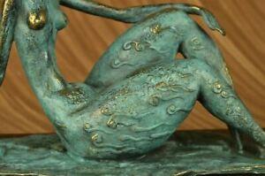 Exhibition specials Elegant Original Signed by Milo Bronze
