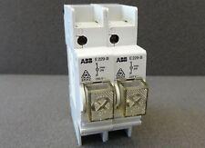 2x Signal Lamps Clear Abb E229 B Indicator Lamp Clear Reg Din Rail Mounted 1 Pin