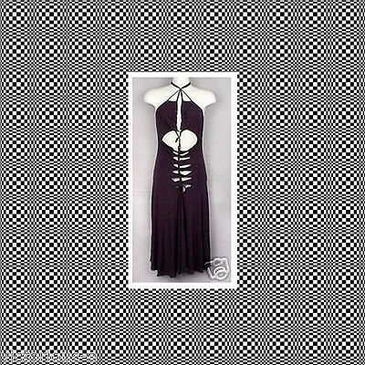 NEW VICTORIA'S SECRET Sexy Black Iron Knot Front Dress - UK 14 16