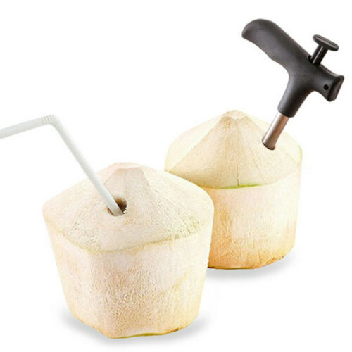 Coconut Opener Punch Holes Drill Hole Cut Coconut Open Aid Best Useful Home Tool