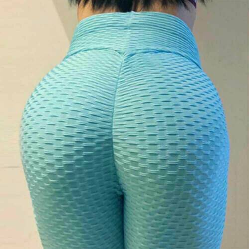 US Womens Butt Lift Leggings Yoga Pants Compression Fitness Sports Gym Trousers