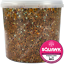 thumbnail 6 - SQUAWK Four Seasons Pigeon Corn - General Year Round Food Mix for Wild Birds