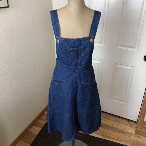 Vintage 1970s Landlubber Denim Dress Jumper