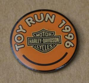 Harley-Pin-Anstecker-Anstecknadel-Toy-Run-1996