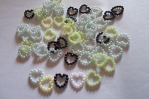 250 Cuori Perline Misti Decorativi Mm 12x10 Matrimoni Bomboniere BéNéFique à La Moelle Essentielle