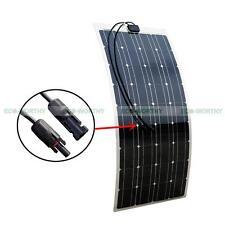 12V 100Watt Flexible PV Power Mono Solar Panel Charge for Battery Home RV Car UK