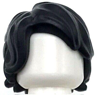 Lego New Dark Tan Standard Minifigure Hair Male Wig Piece