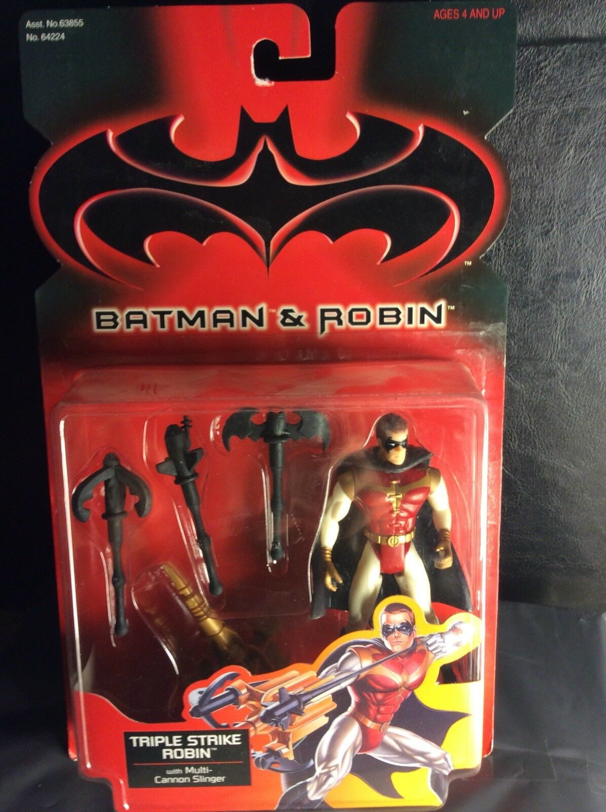 1997 Kenner Batman e Robin Triple Strike Robin