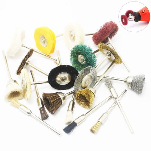2.35mm Shank Polishing Buffing Wheel Brush Pad For Grinder Drill Bit Tool Rotary